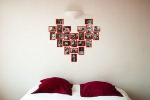 coeur Slimpy® réalisé avec 3 modules puzzle coeur
